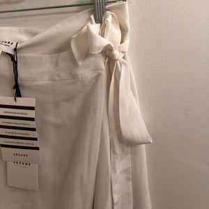Sezane Skirts - Sézane Adriana Wrap Skirt NWT